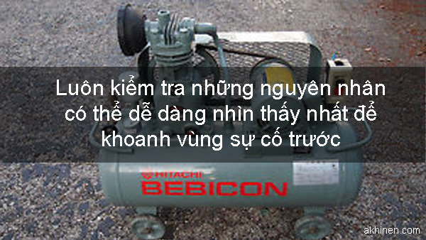 Nguyên nhân máy nén khí không khởi động