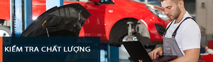 Máy nén khí Hitachi trong ngành sản xuất xe hơi kiểm tra chất lượng xe