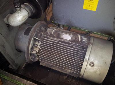 Mô tơ điện máy nén khí sau 10 năm sử dụng